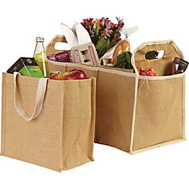 Jute Organizer Bag in Stylish and Fancy Designs