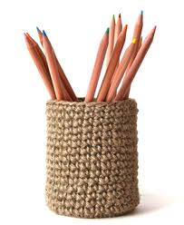 Jute Pencil Pot in Stylish and Fancy Designs