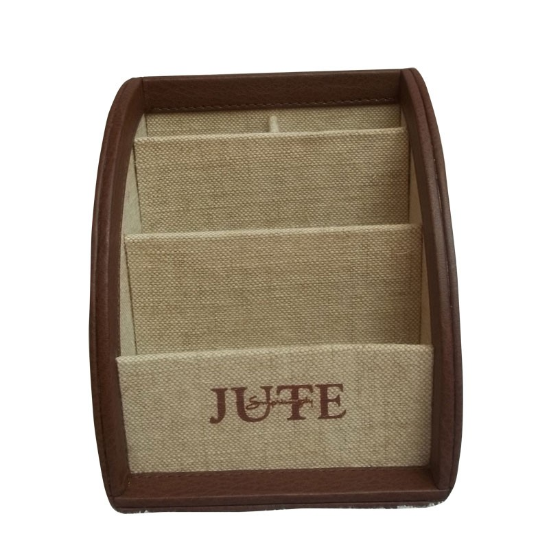 jute stationery holder/organizer